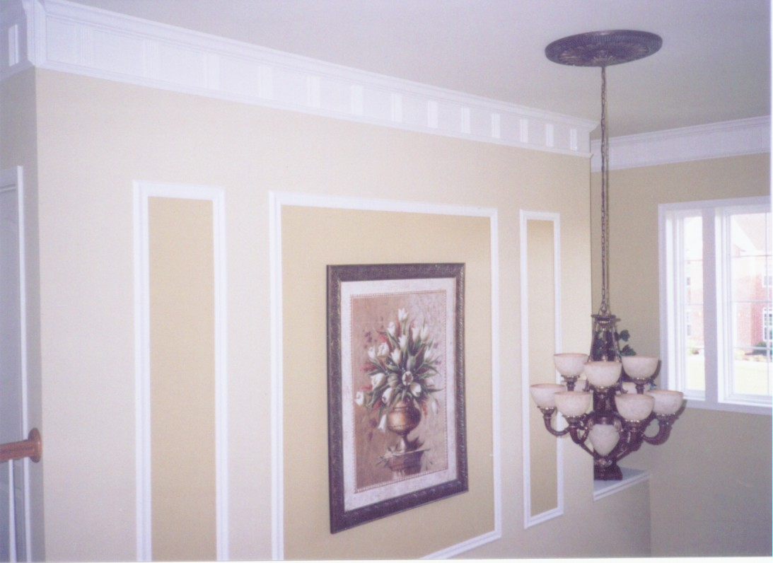 Foyer Trim Ideas : M a rowe custom painting services